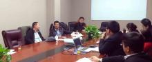 我司邀请清华同衡专家召开农业项目研讨会